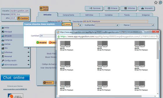 Imprime Etiquetas desde tu Programa de Facturación
